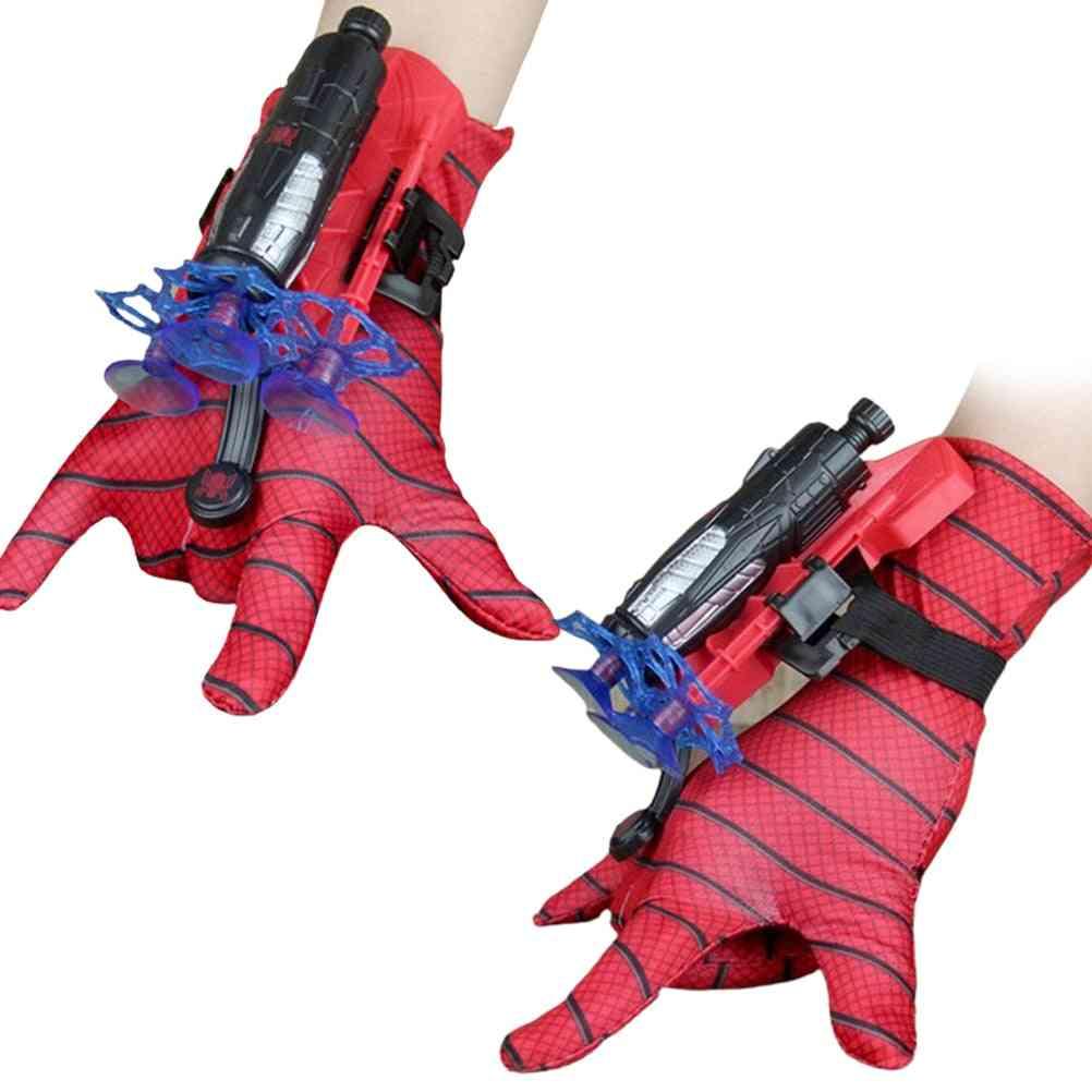 Kids Plastic Cosplay Glove Hero Launcher Wrist