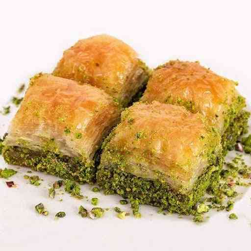 Baklava, Turkish Baklava With Pistachio Daily Fresh Pastry