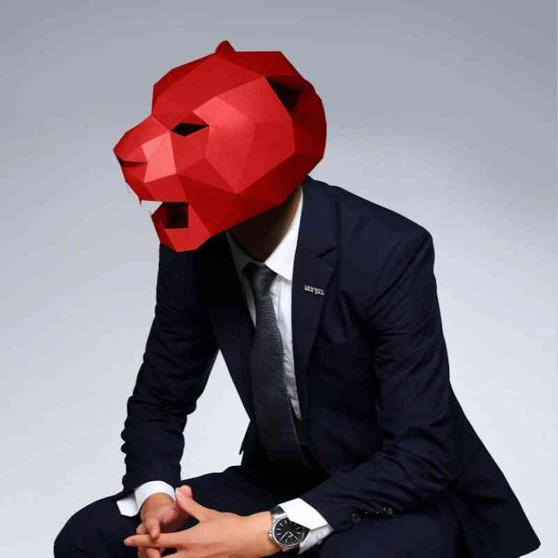 Cosplay Paper Craft Model Mask