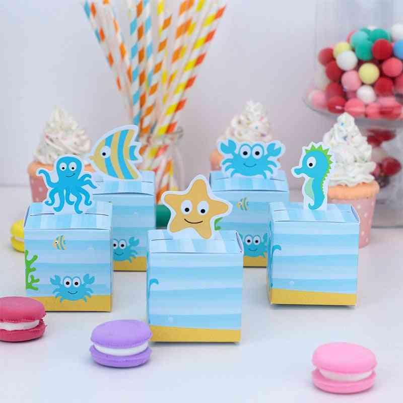 Favor Box Birthday Party, Jungle Safari Treat Box