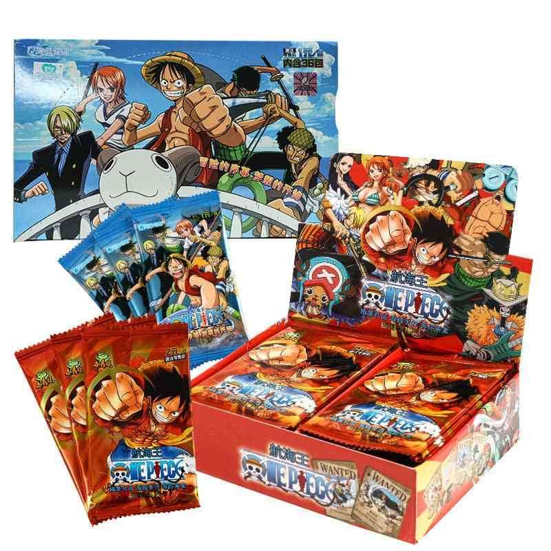One Piece Card Game Animation Peripheral Character Collection Kid's Card Storage Toy
