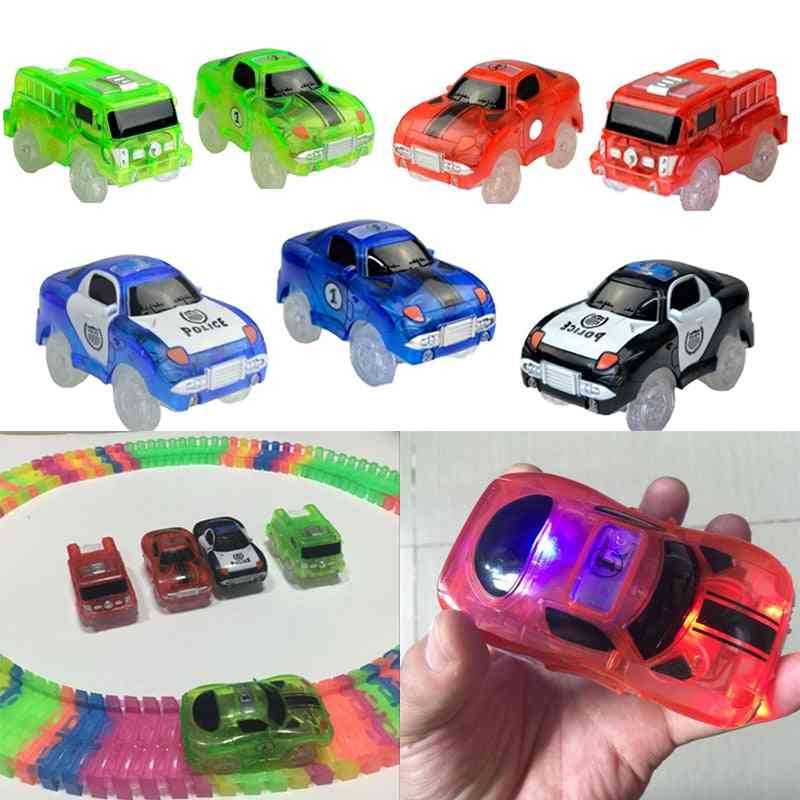 Magical Tracks Luminous Racing Track Car With Colored Lights