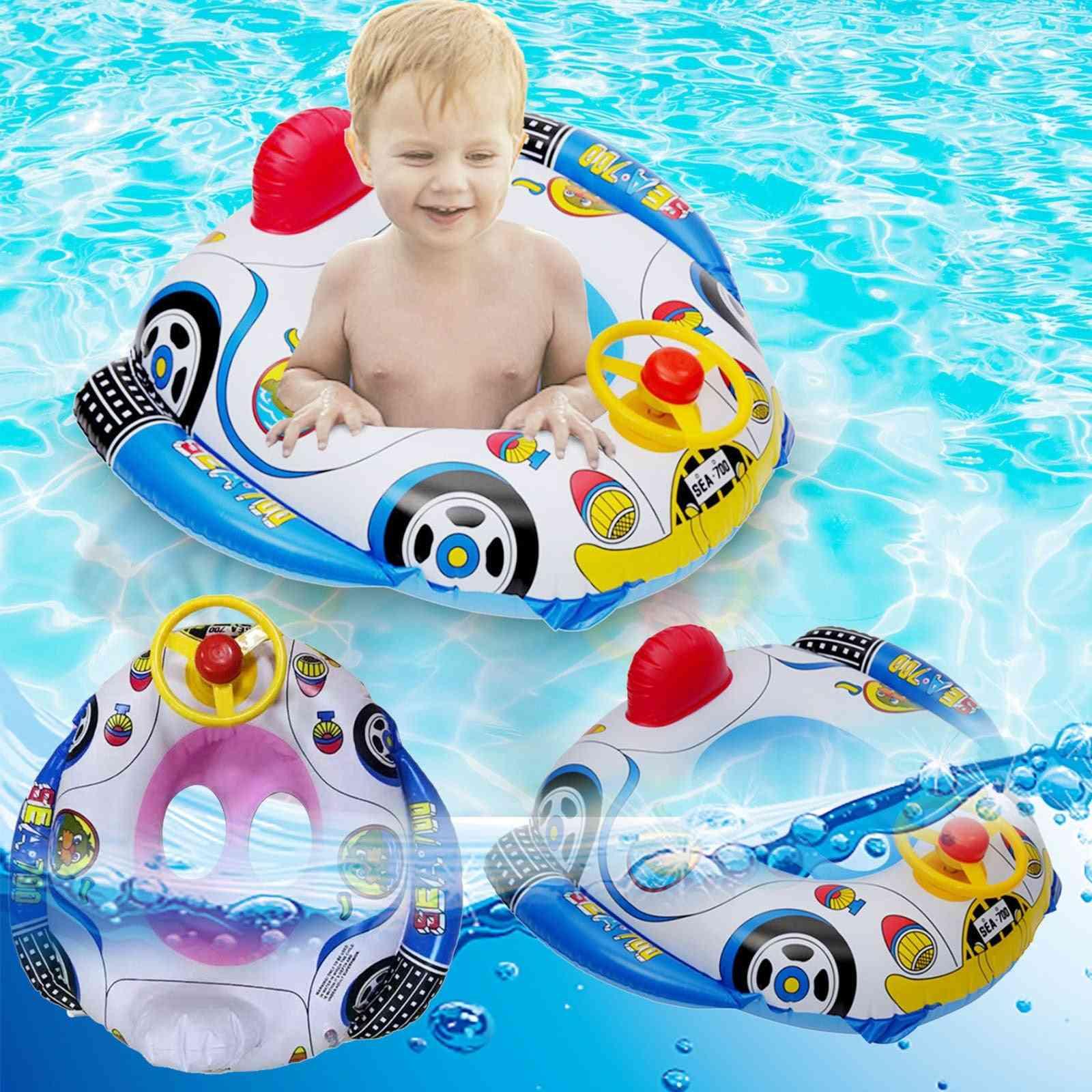 Baby Inflatable Pool Ring Lap Swim Seat
