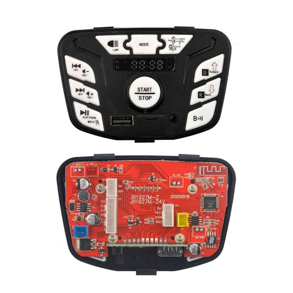 Children's Electric Vehicle Power Start Control Board Music Player