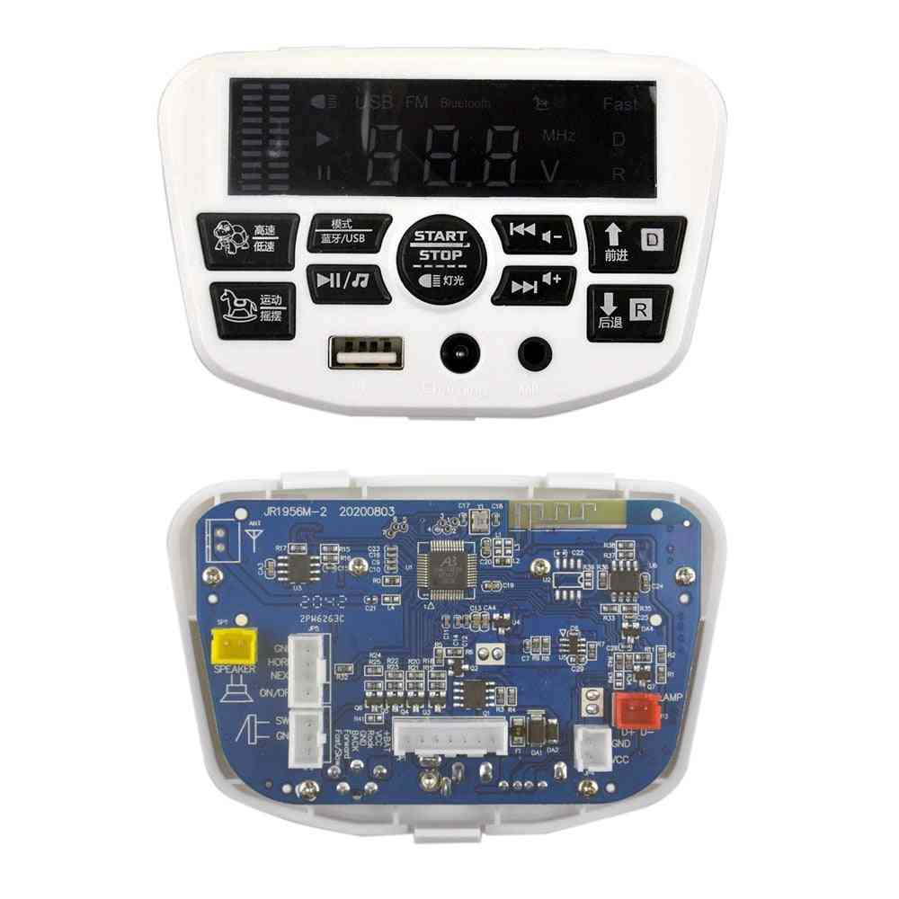 Electric Vehicle Power Start Control Board