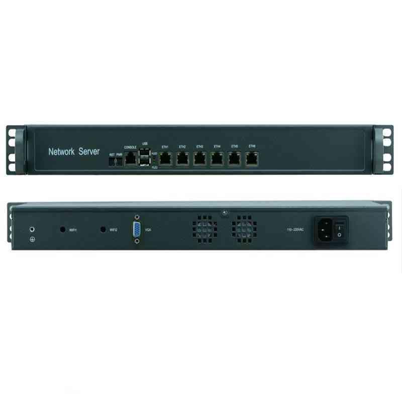 Partaker Ethernet Lan Ports Network Security Firewall Linux Fanless.