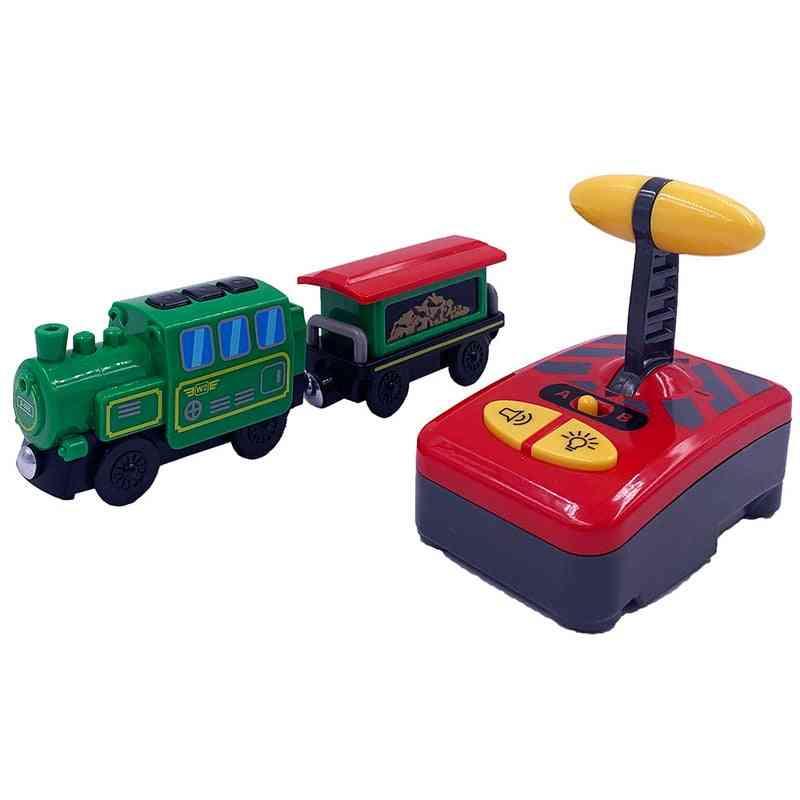 Remote Control Battery Model Electric Rc Train Set
