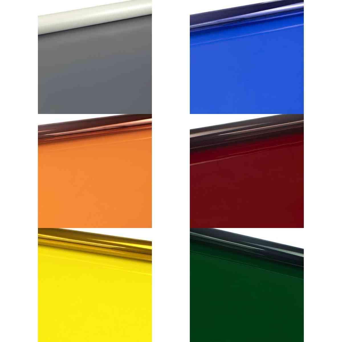 Color Lighting Gel Filter Sheets