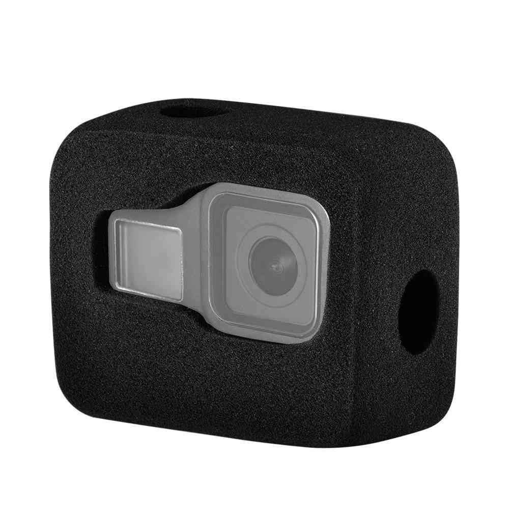 Foam Cover Wind Noise Reduction Windproof Case For Go Pro 8 Camera Accessories