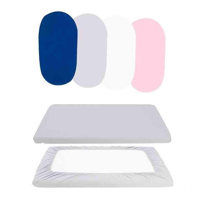 Baby Girl Bed Mattress Protector Cradle Cover Elastic Fitted.
