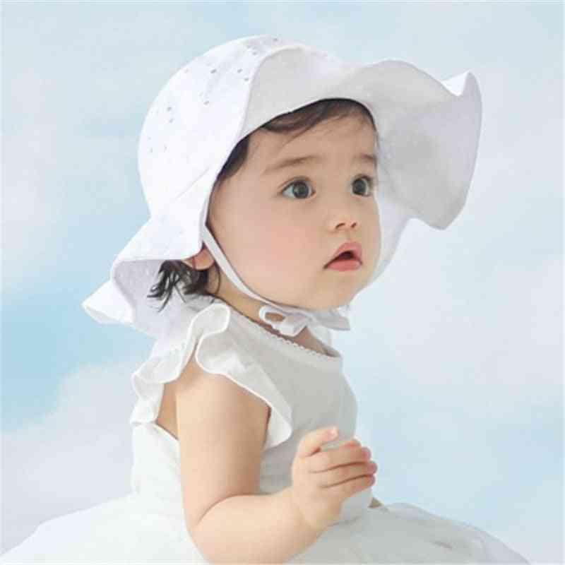 Hat Cap Cotton Baby Girl Sun Hat Summer Outdoor Kids Panama Cap