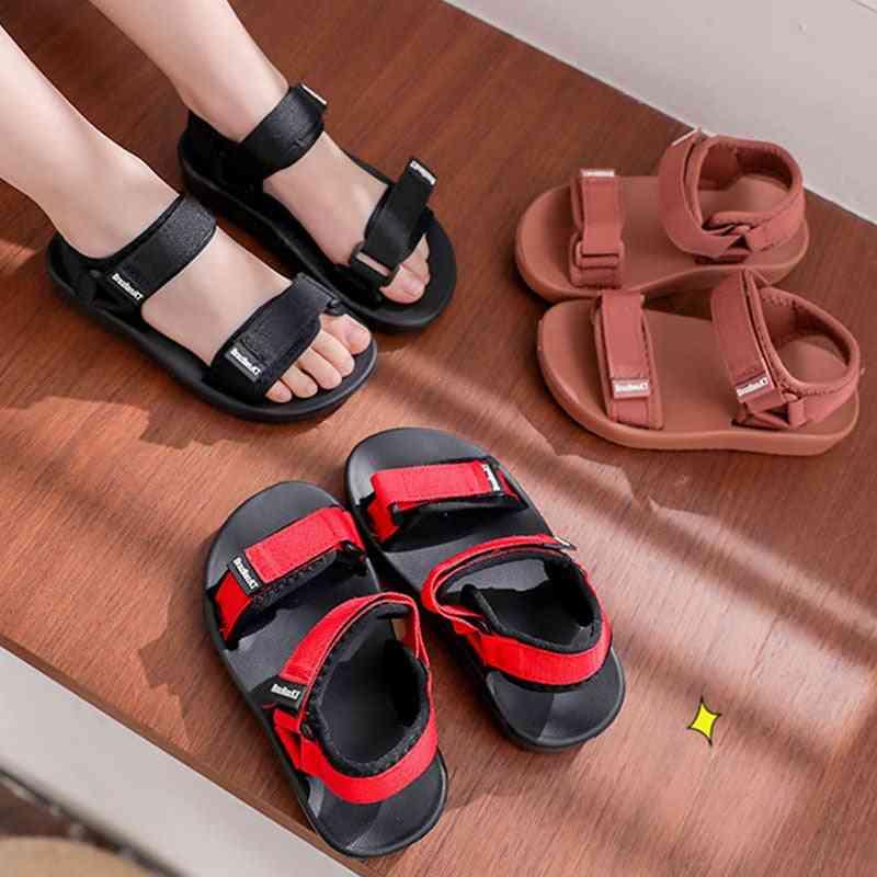 Kids Solid Color Soft Anti-slip Shoes