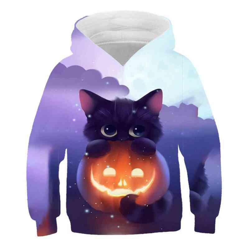 Cropped Sweatshirt, Outwear Anime Summer Hooded - 3