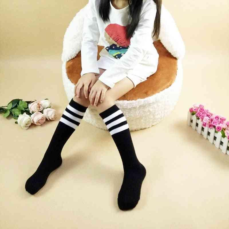 Toddler School Football Sports Striped Sock