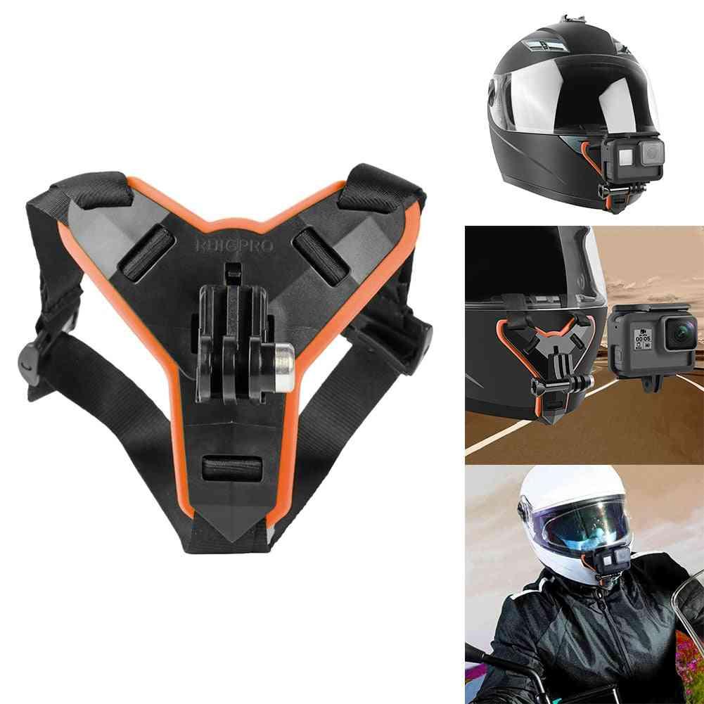 Motorcycle Helmet Front Chin Bracket Holder Tripod Mount For Gopro Hero