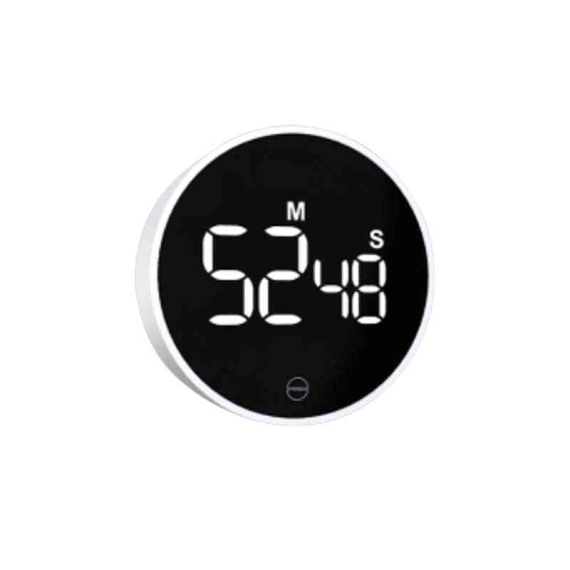 Timer Rotation Timing Magnetic On The Back Led Digital Display Stylish And Simple