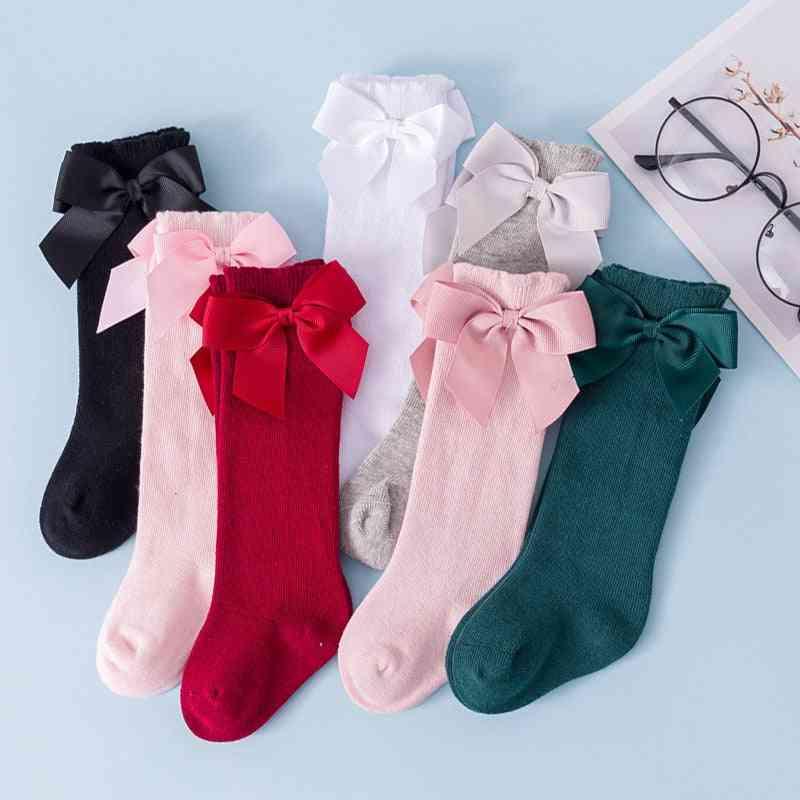 Baby Infants Kids Toddlers Knee High Socks