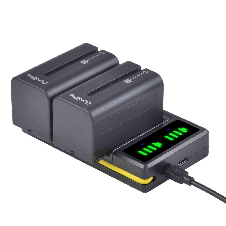 Li-ion Camera Battery + Led Usb Dual Charger