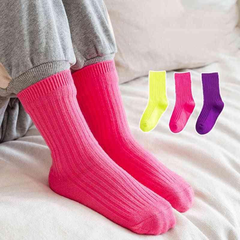 Autumn Winter Socks, Soft Cotton Socks