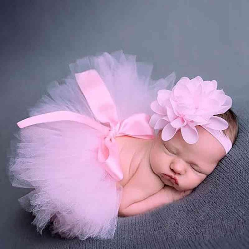 Newborn Baby Tulle Tutu Skirt