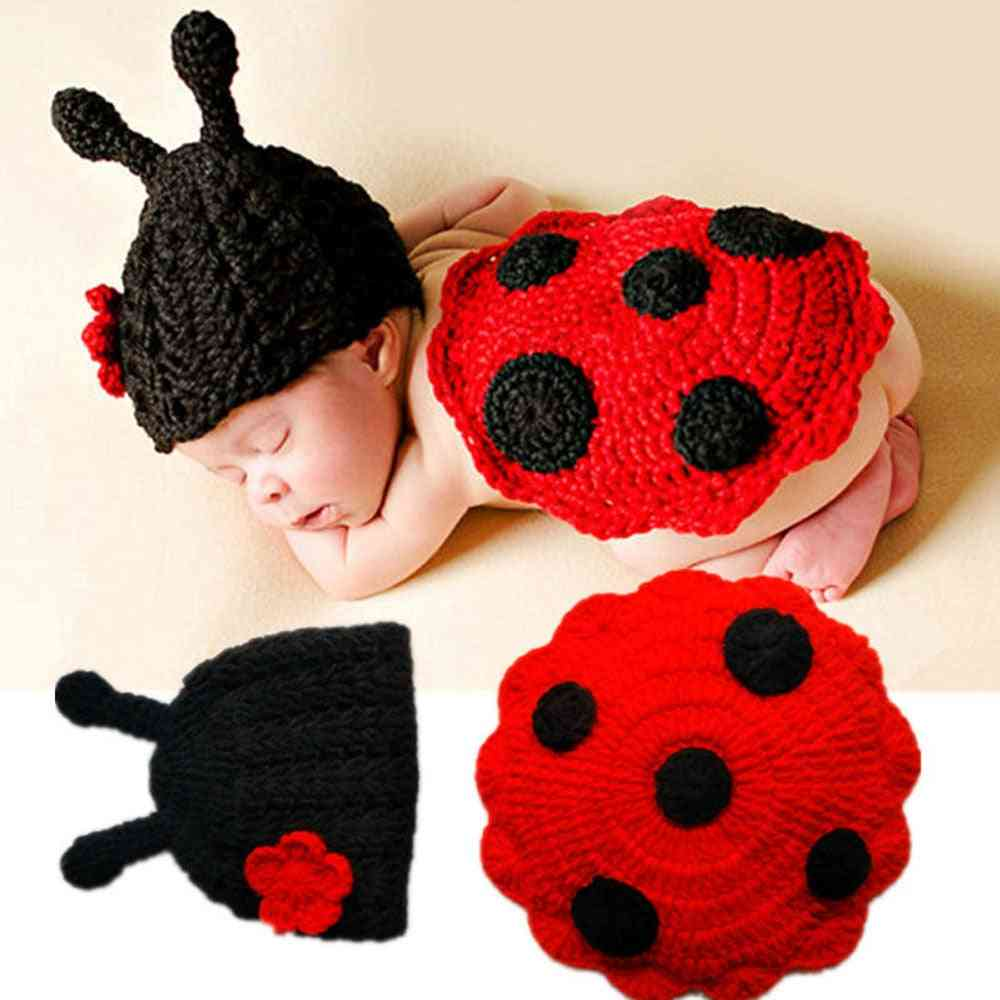 Newborn Baby Cute Insects Knit Crochet Clothes Costume