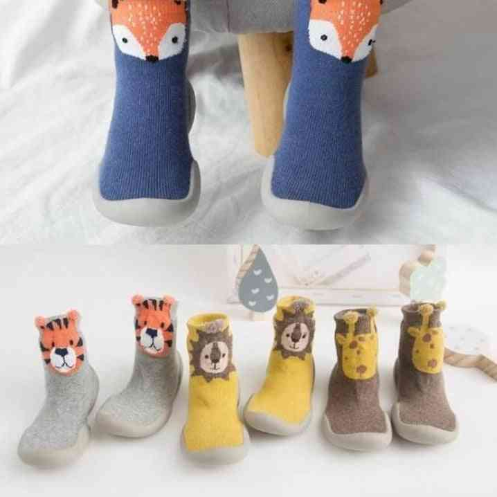 Non-slip Fox Tiger Thickening Shoes
