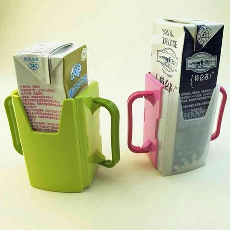 Adjustable Plastic Toddler Kid Juice Drinking Bottle Cup Holder