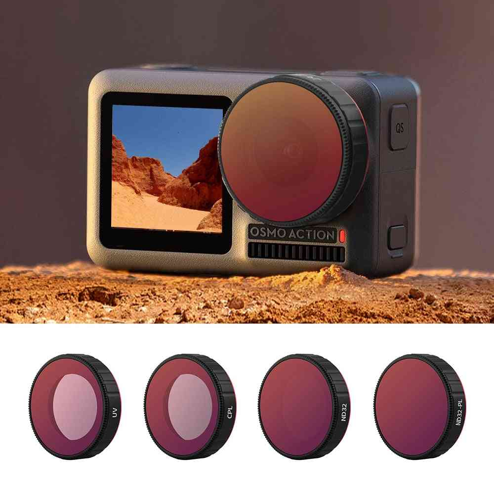 Lens Filters Set Action Camera Accessories