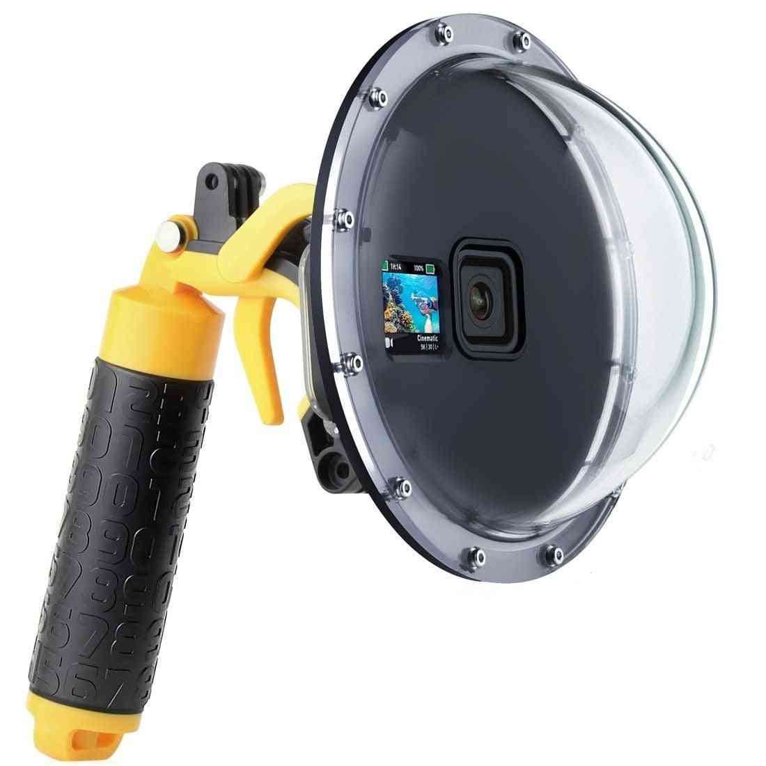 Waterproof Diving Dome Port Lens Cover Housing Case