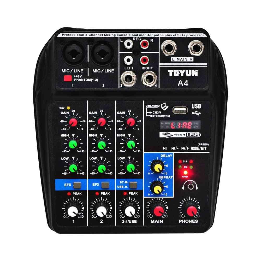 Channels Usb Audio Mixer