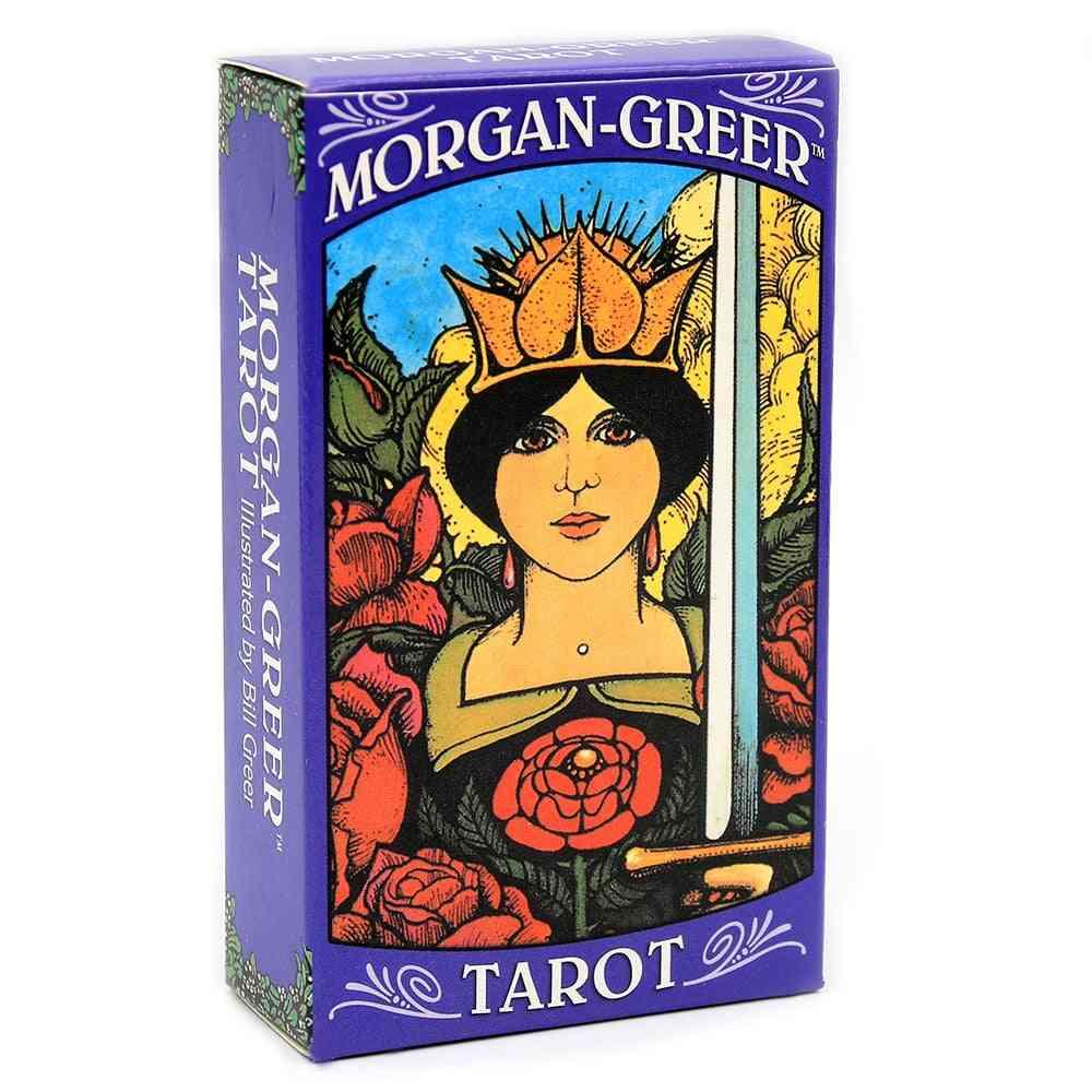 Morgan Greer Tarot Deck English Cards Game Toy
