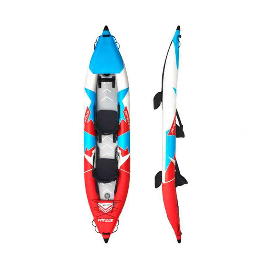 Inflatable Boat For Fishing Rowing - Pvc Boat Dinghy Raft With Hand Pump