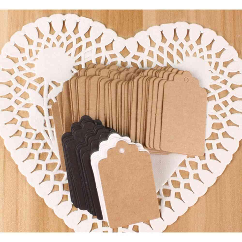 Packaging Label Kraft, Paper Hang Tags, Diy Food Label, Wedding Decorating Tag