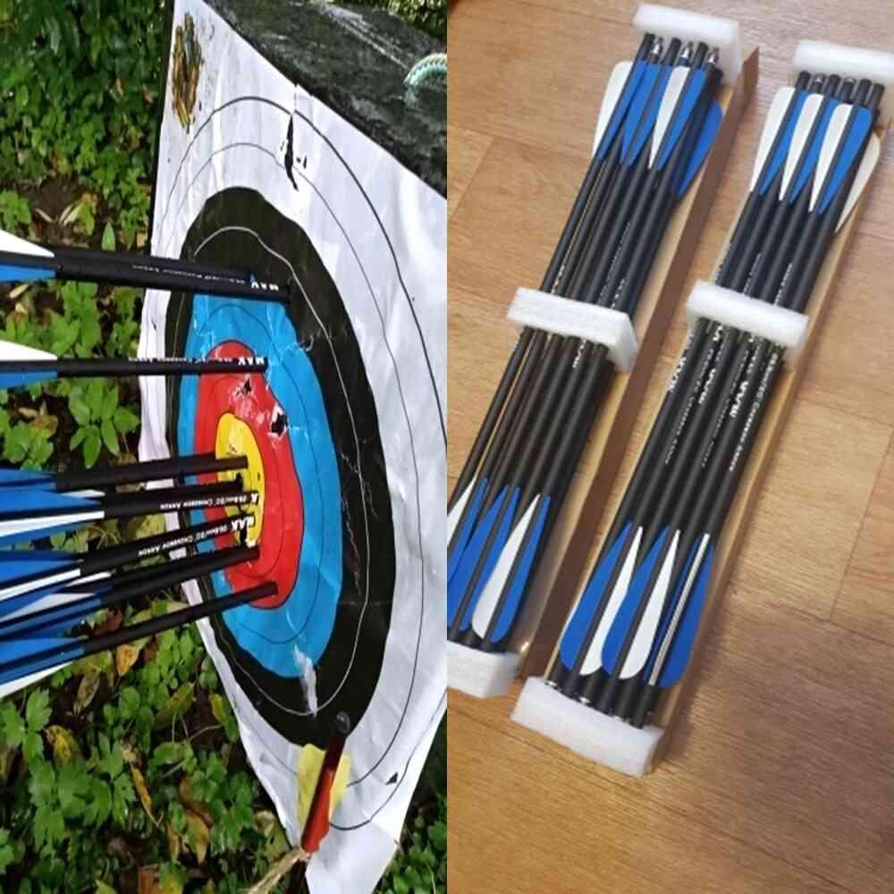 Target Hunting Arrows Crossbow Bolt With 125 Grain Crossbow Arrow Head.