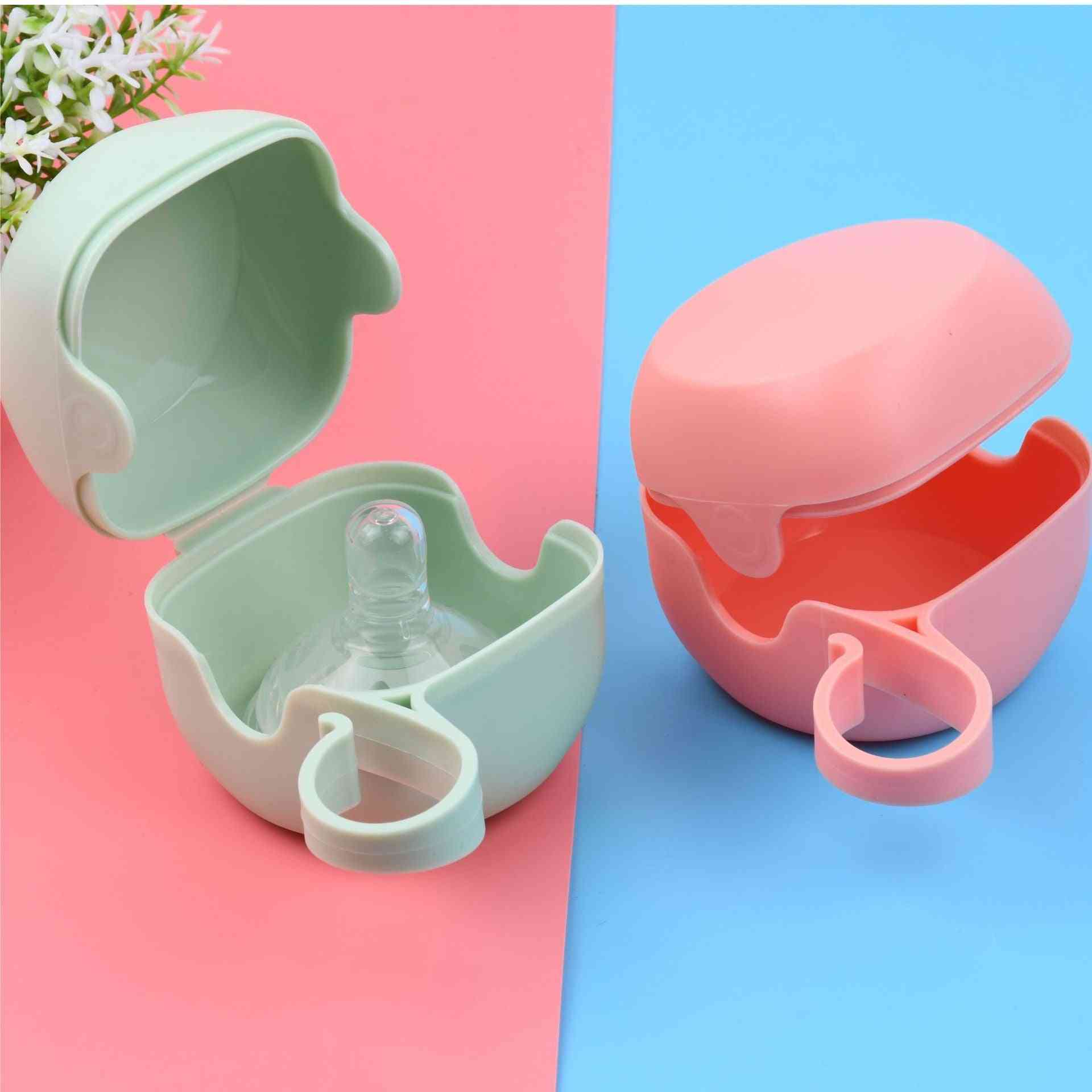 Solid Pacifier Box Soother Container Holder Pacifier