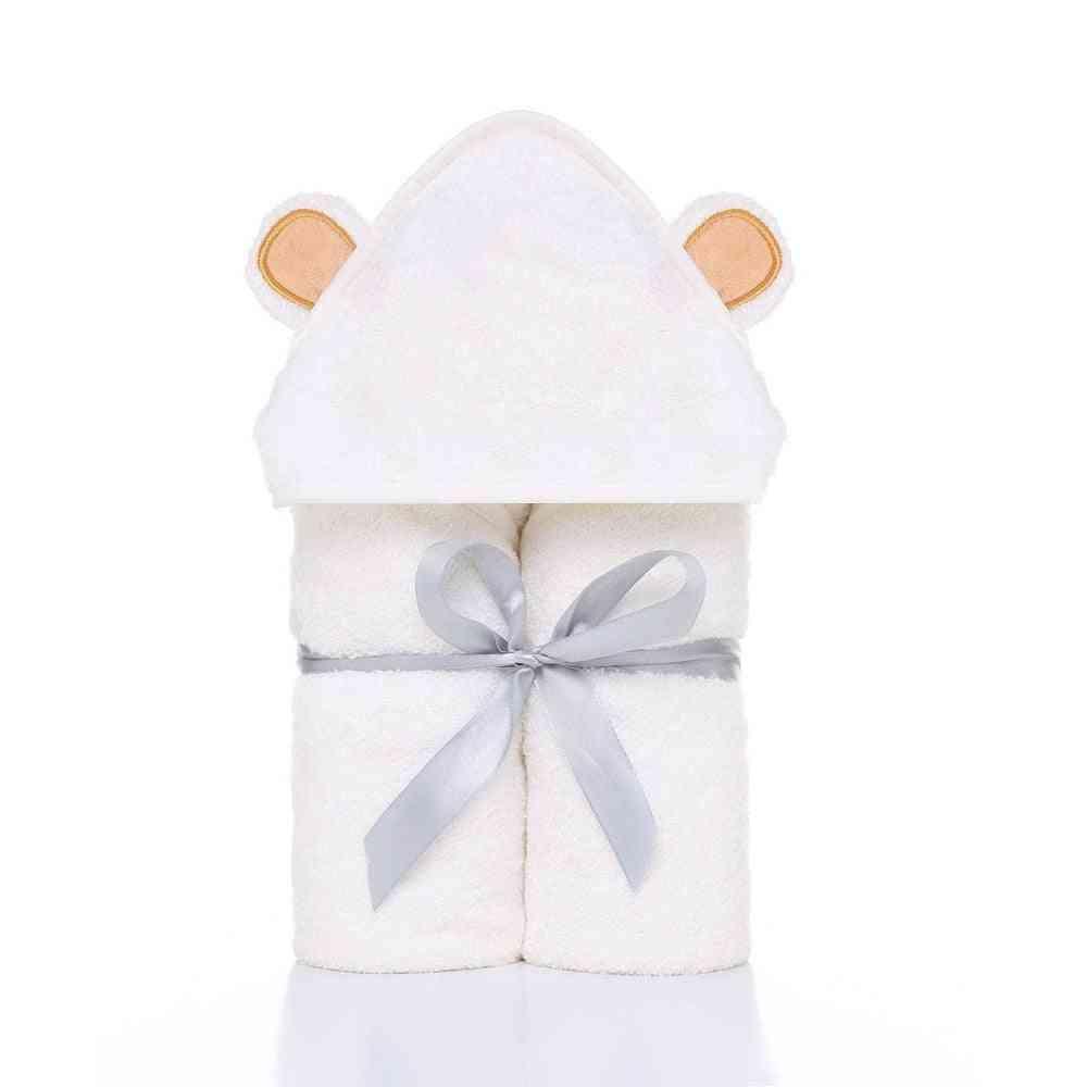 Cute Animal Shape Hooded Baby Towel, Bathrobe