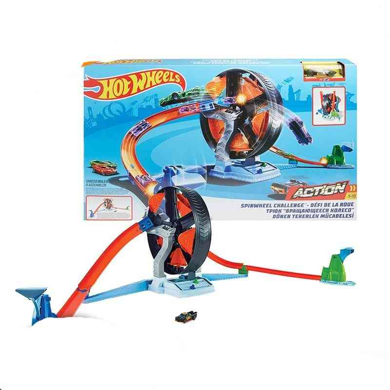 Spin Car Challenge Play Set Toy