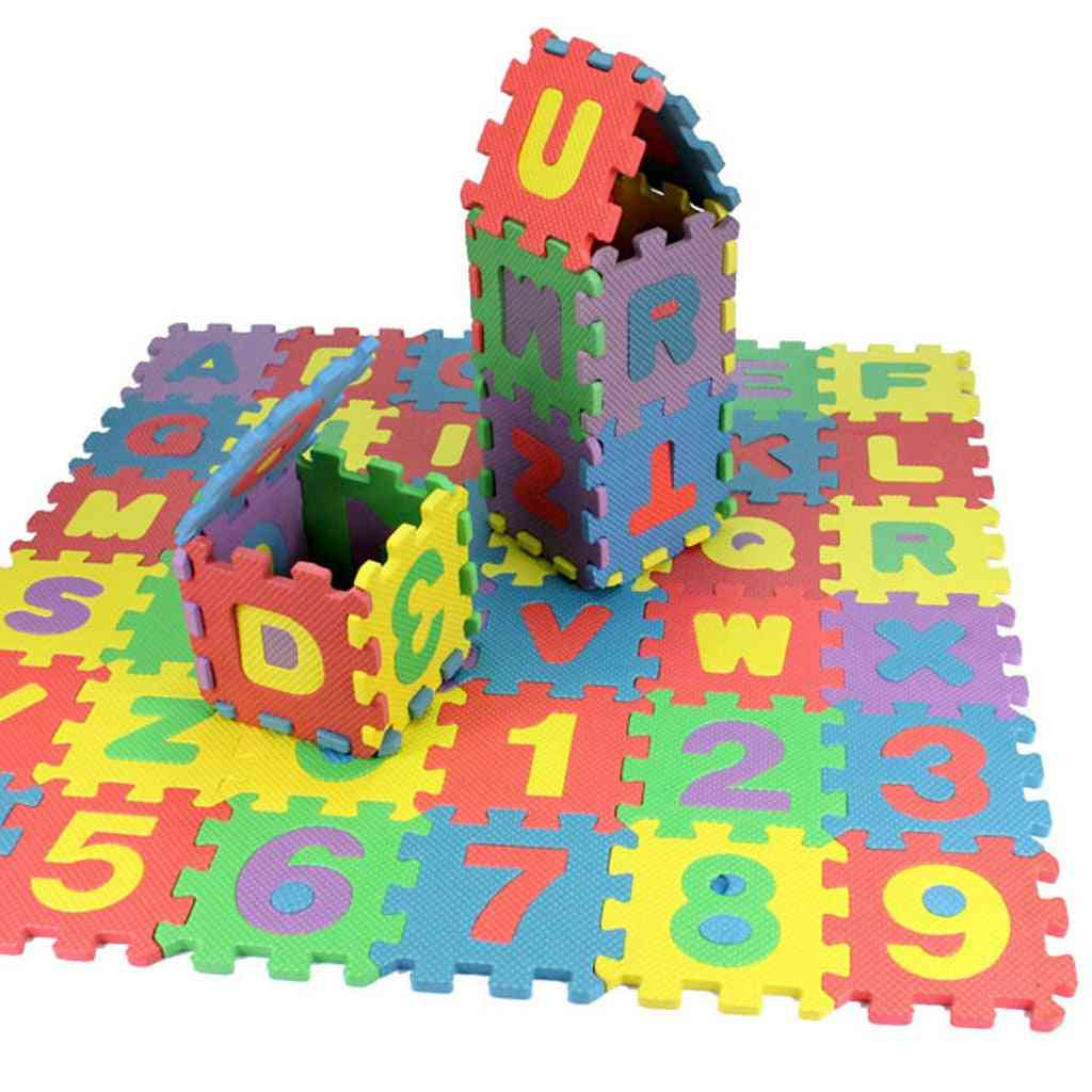 Number Alphabet Puzzle Foam Math's Educational Toy