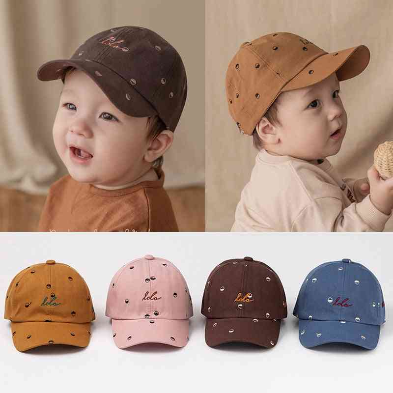Soft Cotton Kids Boy Adjustable Baseball Caps