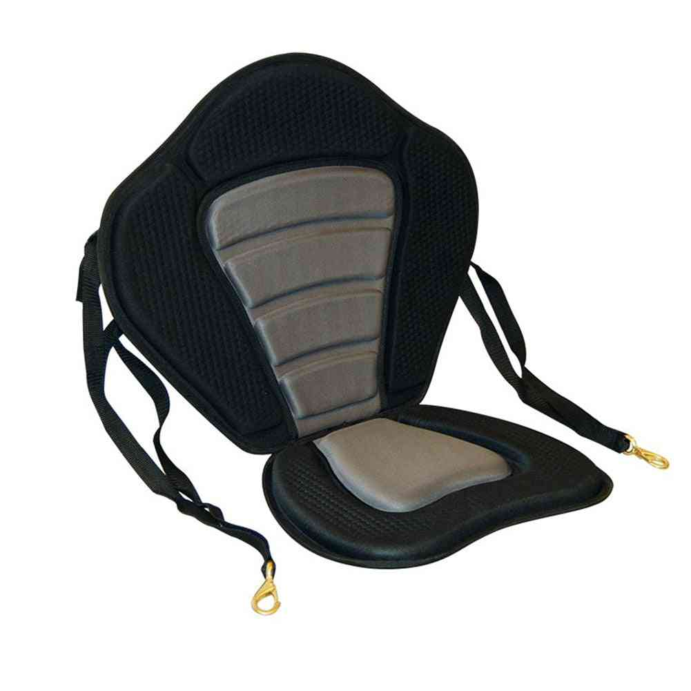 Universal Adjustable Kayak Padded Seat With Boat Cushion For Water