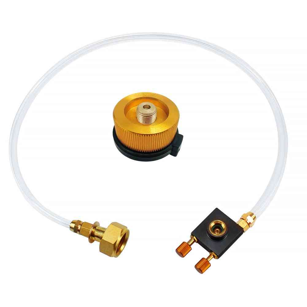 Outdoor Camping Gas Stove Propane Refill Adapter Gas