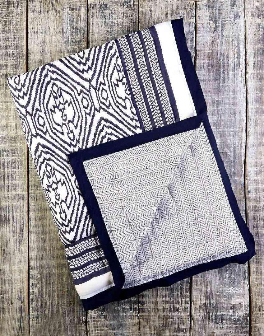 Southside Blue Cotton Quilt