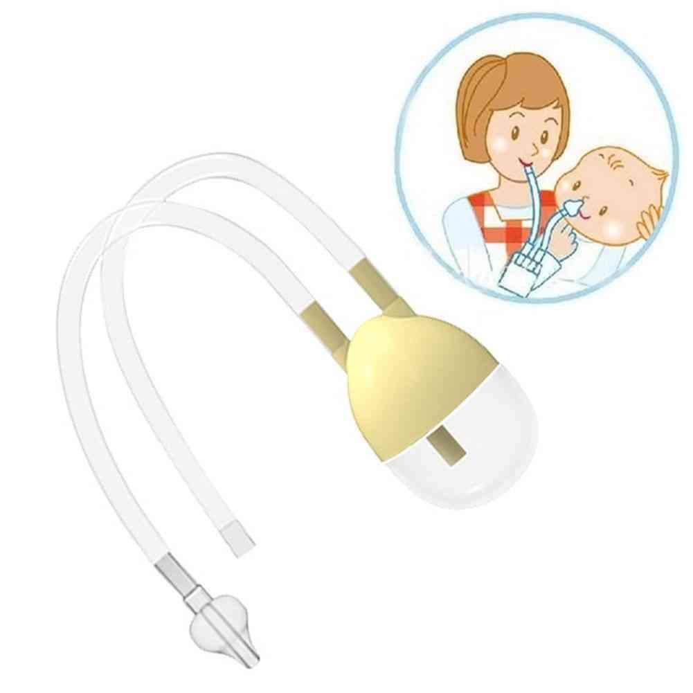 Baby Safety Nasal Mucus Runny Aspirator Nose Cleaner Vacuum