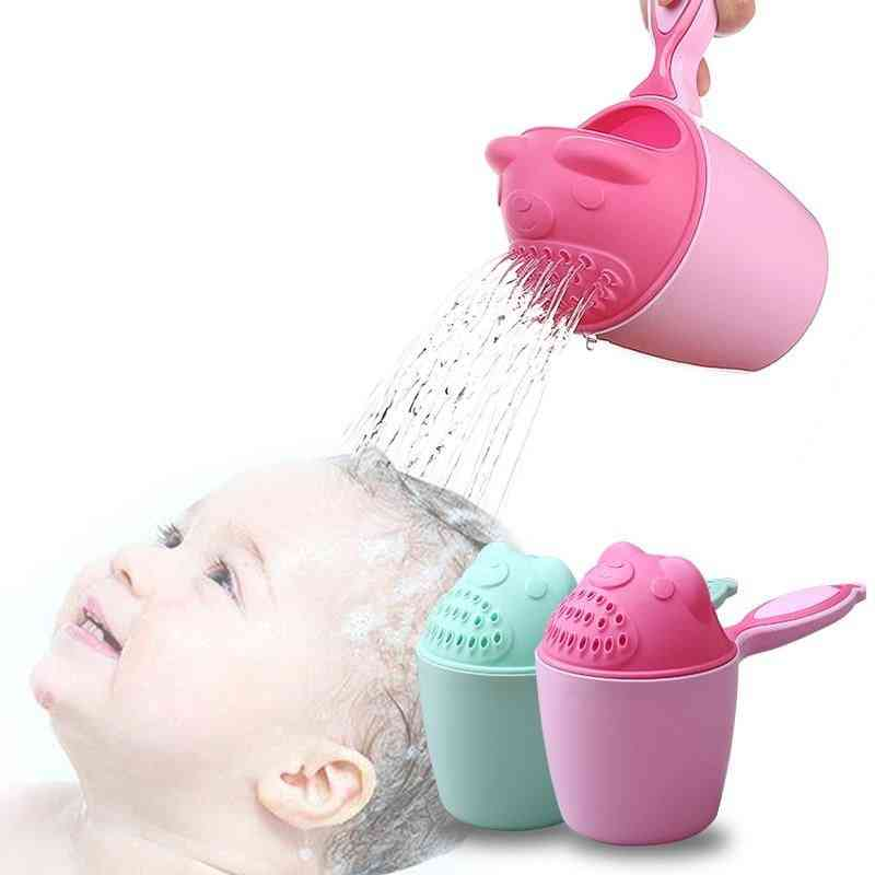 Baby Shampoo Cups Hair-cup Shower-spoons