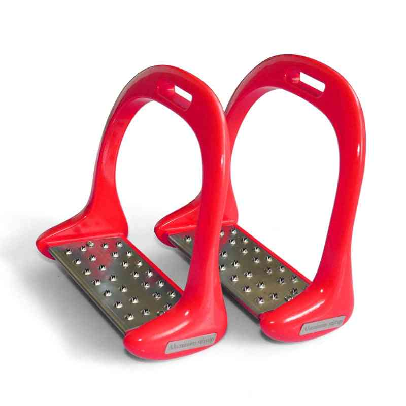 1 Pair Stirrup Horse Riding Equipment Stainless Steel