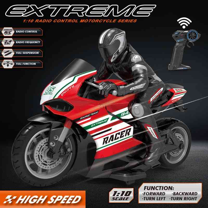 Remote Control High-speed Racing Motorcycle Road Vehicle  Car
