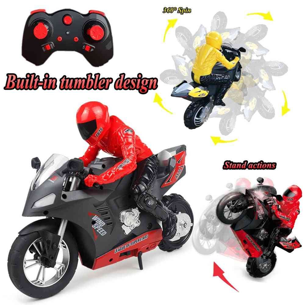 Remote Control Motorcycle Radio Electronic Racing Cars