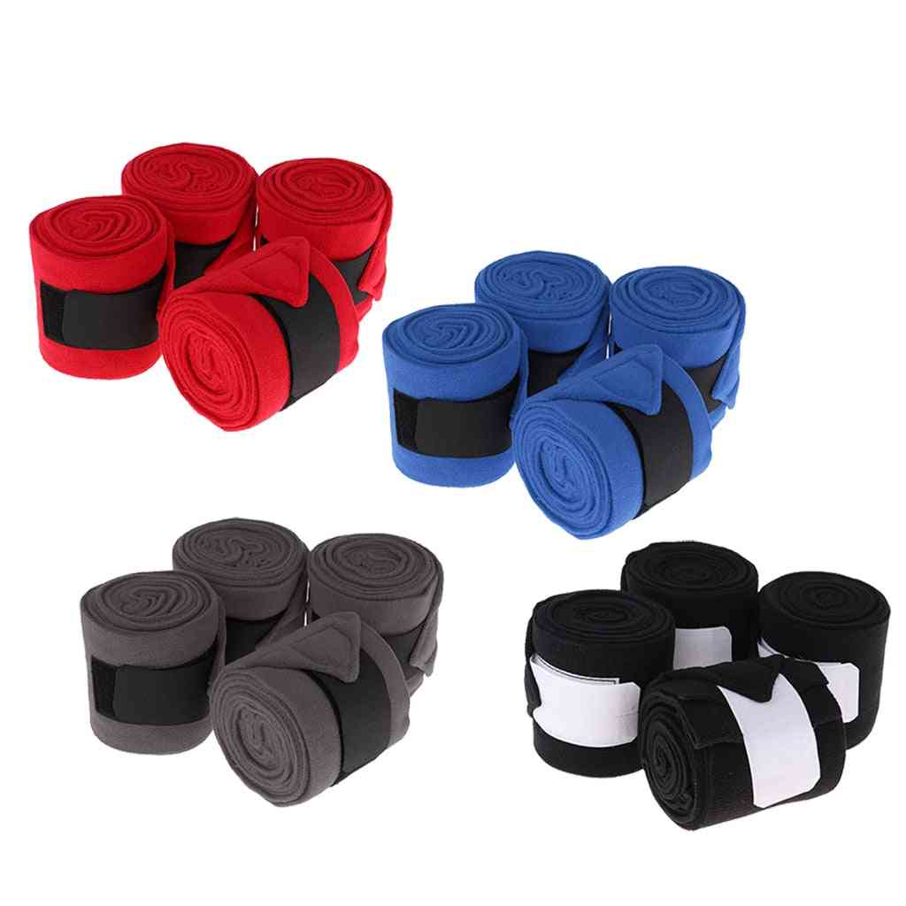 Polar Fleece Bandages Can Be Used During Training