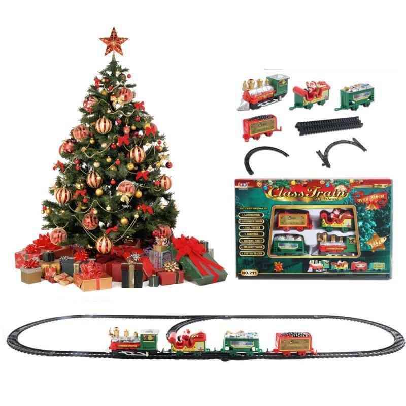 Kids Train Railway Rc Trains Toy Christmas Paty Train /'s Railway Set
