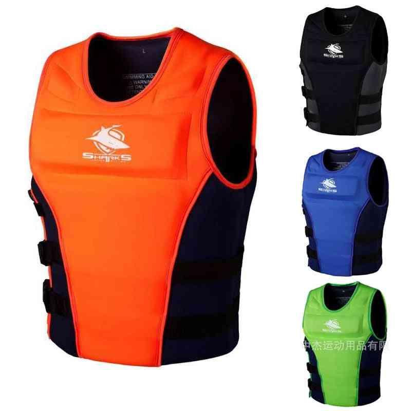 Swimming Floating Vest Buoyancy Aid Fishing Surfing Adult Life Jacket